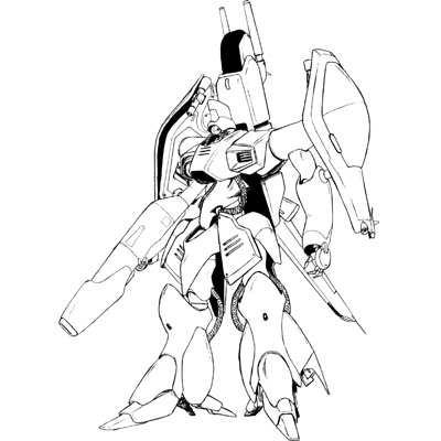 AMX-003 Gaza-C in mobile suit mode from Gundam Sentinel