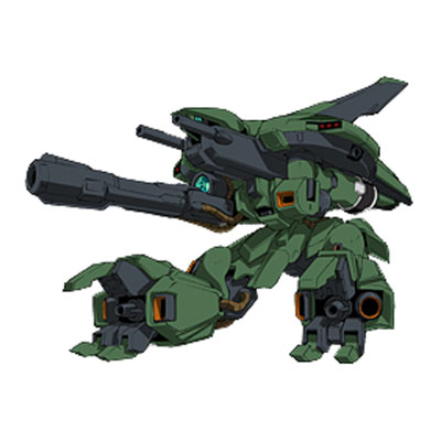 AMX-006 Gaza-D from Gundam Unicorn in mobile armour mode