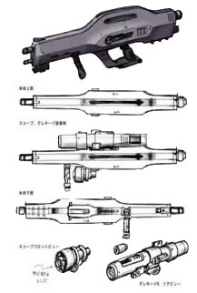 BAUVA·XBR-M-79-07G beam rifle