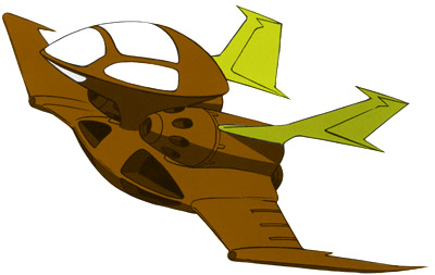 Dopp piloted by Garma Zabi