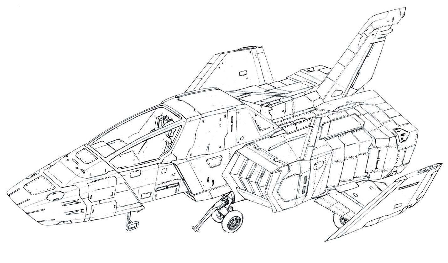 FF-X7 Core Fighter from UC Hardgraph