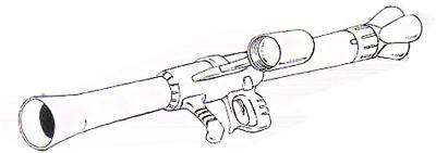 H&L-SB21K/280mm A-N Zaku bazooka