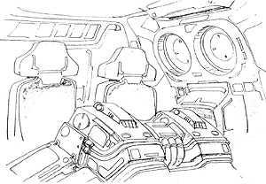 MAX-03 Adzam cockpit