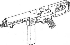 MMP-80 90 mm machine gun