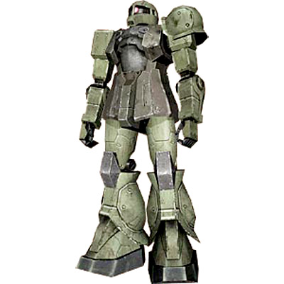 MS-05A Zaku I Early Type from Zeonic Front