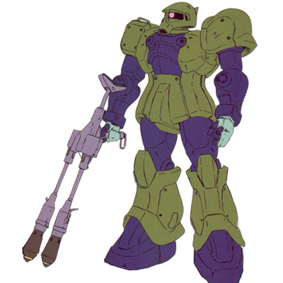 MS-05B Zaku I with G3 warhead