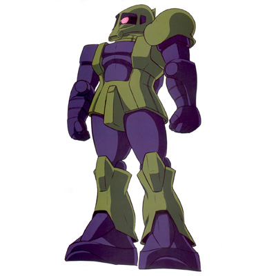 MS-05B Zaku I in Mobile Suit Gundam