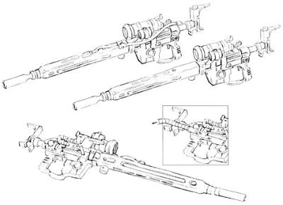 MIP-Z79-E0 type beam sniper rifle