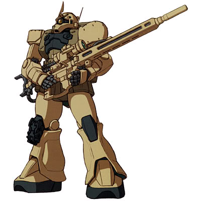 MS-05L Zaku I Sniper Type from Mobile Suit Gundam Unicorn