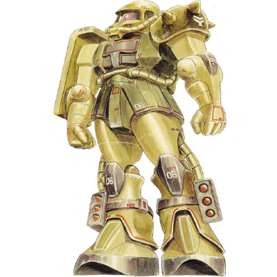 MS-06J Zaku II Ground Combat Type from Mobile Suit Variations