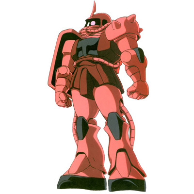 Char's MS-06S Zaku II Commander Type