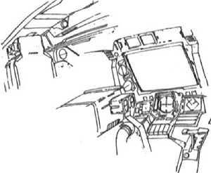 MS-09R Rick Dom cockpit