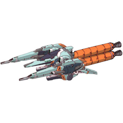 MSA-005X-2 Methuss X-2 in mobile armour mode with boosters