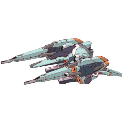 MSA-005X-2 Methuss X-2 in mobile armour mode with large mega particle cannons