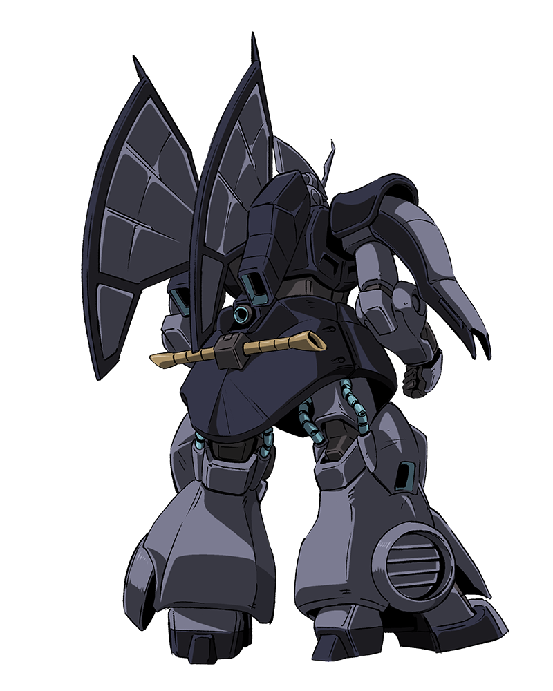 Back view of MSK-008 Dijeh from Gundam Narrative