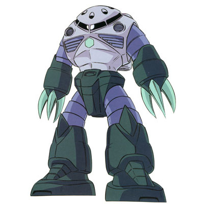 MSM-07 Z'Gok from Mobile Suit Gundam