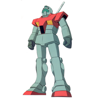 RGM-79 GM Mobile Suit Gundam version