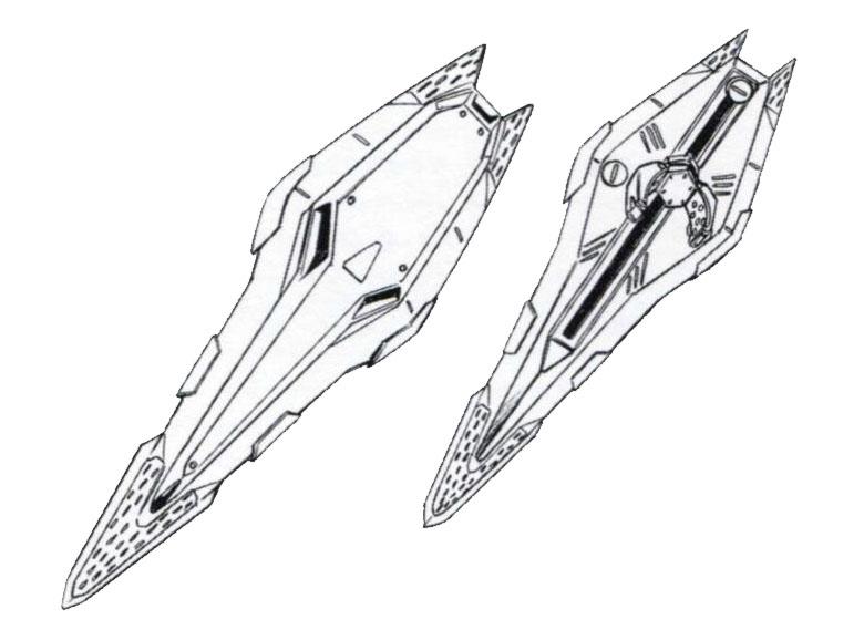 RX-105 Ξ Gundam shield