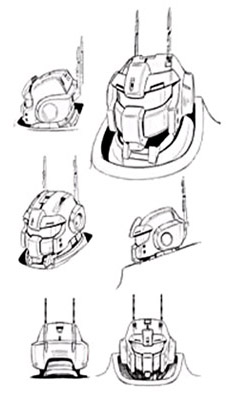 RX-77-2 Guncannon head