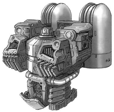 YMS-15 Gyan torso