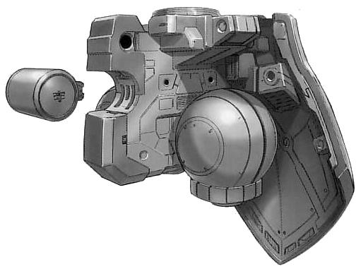 YMS-15 Gyan hip